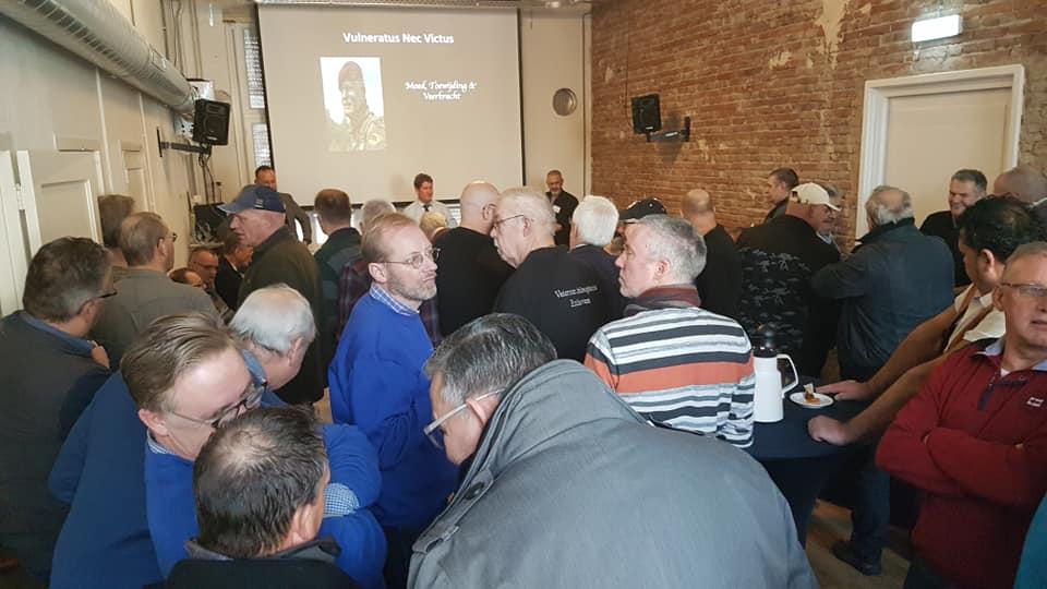 19-01-2019 | Edwin geeft lezing bij Stichting Veteranen Brabant Zuid-Oost