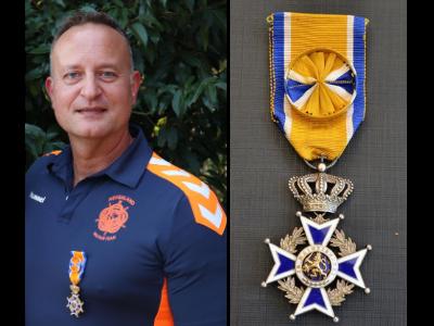 2020-09-19 | Edwin benoemd tot Officier in de Orde van Oranje-Nassau
